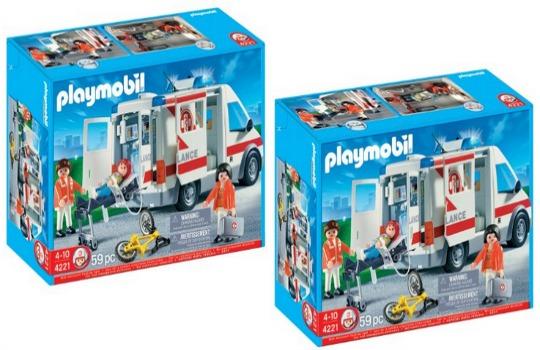 Playmobil City Action Emergency Ambulance £27.40 Delivered @ Amazon/Argos