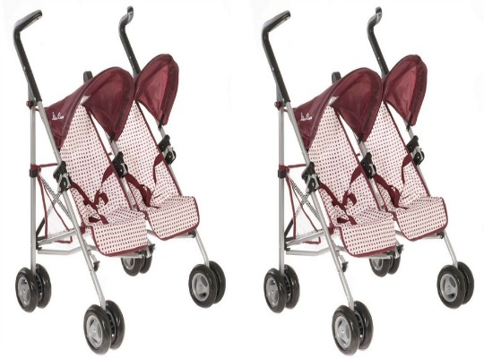 Silver Cross Dolls' Pop Duo Pushchair £17.91 Delivered @ Amazon
