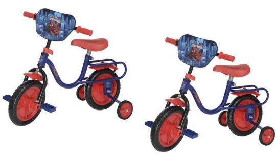UPDATED! Quick! Child Spiderman Bike £8 @ Tesco Direct