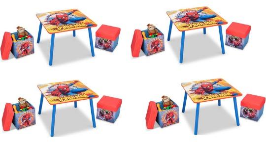 Spiderman Table & Two Ottoman Storage Seats £19.99 @ Toys R Us