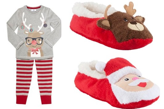 Reindeer Pyjamas £3 - £3.50 @ Tesco F&F