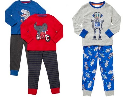 Kids Pyjamas From £3.50 @ F&F Tesco
