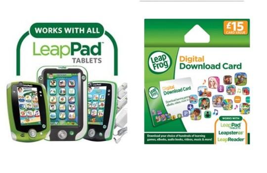 LeapFrog Explorer App Centre Download £15 Card For £7.46 @ Amazon