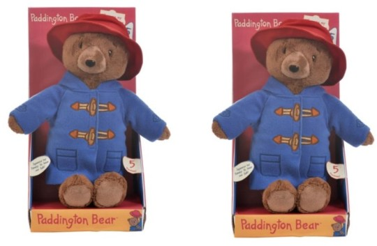 Paddington Bear 30cm Talking Soft Toy £12 @ Tesco