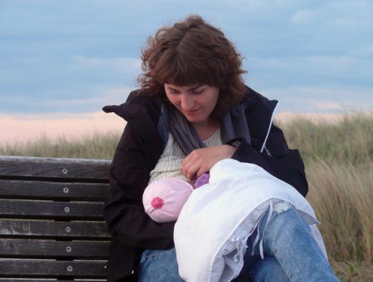 Should Breastfeeding Women Sit In A Corner?