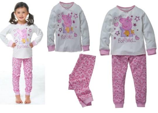 Peppa Pig Pyjamas £4.49 @ Argos