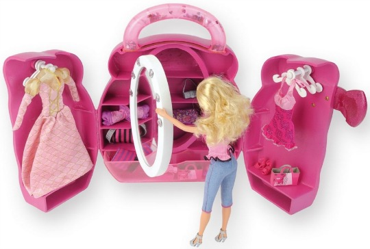 Barbie Doll's Wardrobe £5.61 (was £34.99!) @ Amazon