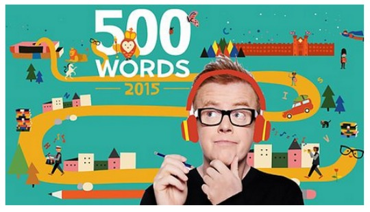 Children's Writing Competition '500 Words' Launched Today on Radio 2