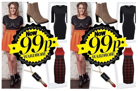 99p Fashion Deals All This Week @ Now Magazine!