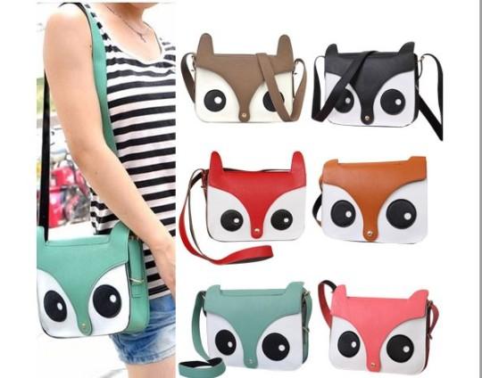 Owl/Fox Crossbody Handbag £7.99 Delivered @ eBay