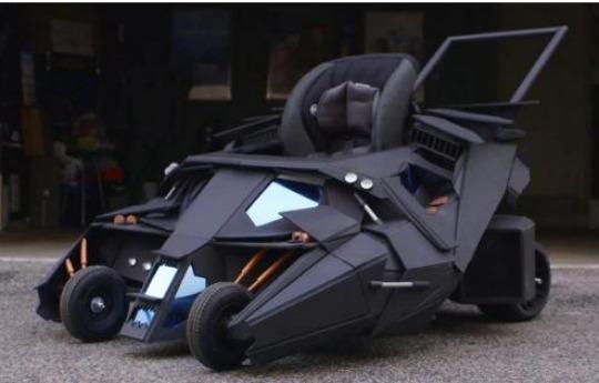 It's the Batmobile Buggy!