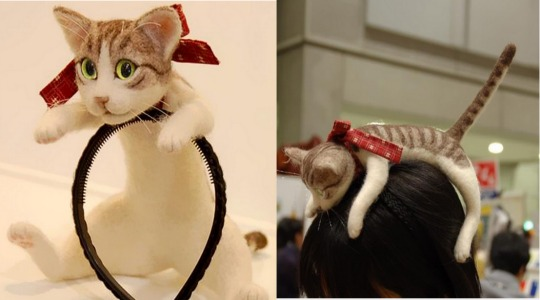 The Cat Hair Accessory!