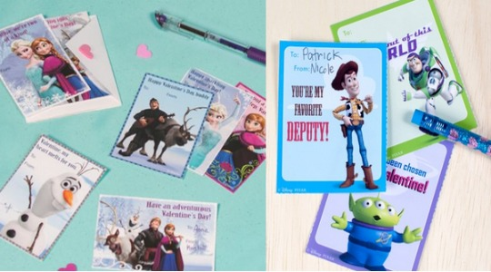 FREE Disney Valentines Cards @ Disney Family