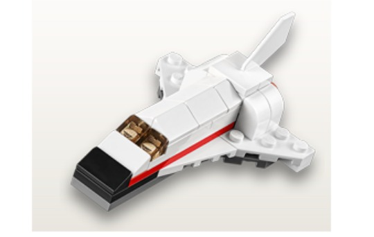 FREE Lego Space Shuttle with the Monthly Mini Build @ Lego Stores