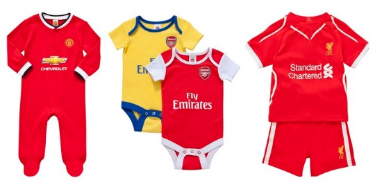 Baby Football & Rugby Kits £12 (or £9 with code) @ Tesco