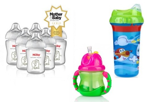 25% Off Cups, Beakers,Bath Time and more @ Nuby