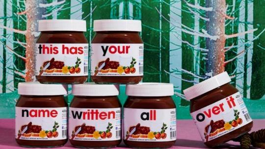 Personalised Nutella Jar £3.99 in store @ Selfridges