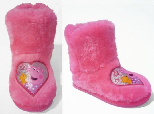 Peppa Pig Slipper Boots £3.99 @ Argos