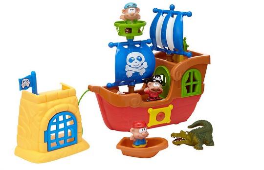 Pirate Ship Playset was £25, now £6.25 @ John Lewis