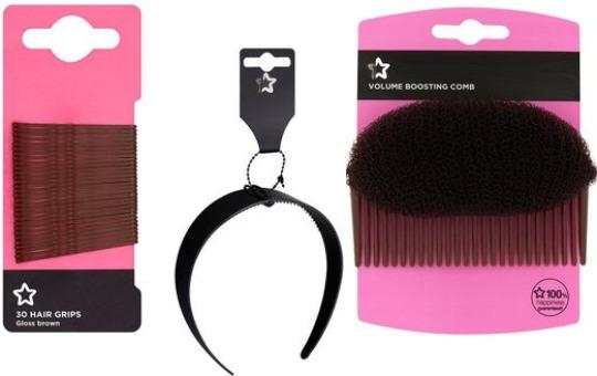 Hair Accessories 49p (Some BOGOHP) @ Superdrug