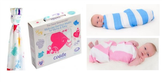 Great Swandoodle Giant Baby Muslin - £12 with Free Delivery (was £22.99) @ Cuski