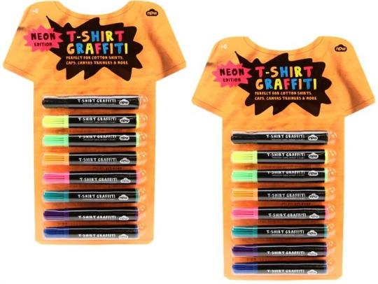 NPW Neon T-Shirt Graffiti Pen Set £2.50 @ Amazon