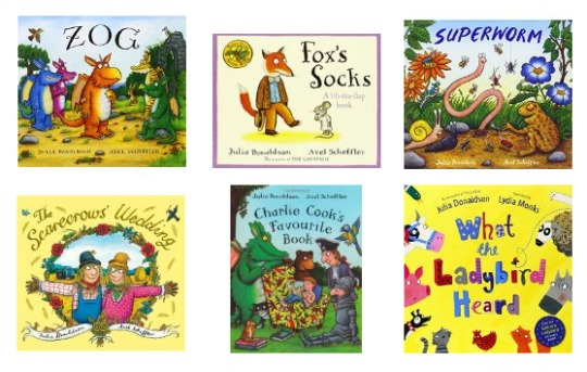 Up to 50% Off Julia Donaldson Books @ Amazon