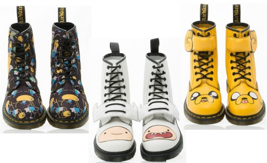 ADULTS Adventure Time Doc Martens Boots Now Available @ Doc Martens
