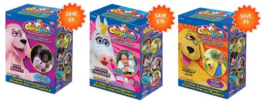 Cuddleuppets: Now from £3.99 @ Bargain Max