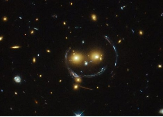 It's a Smiley in Space! :)