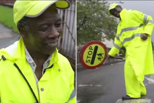 Lollypop Man Banned From Giving Children High-Fives
