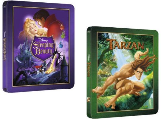 Disney Sleeping Beauty/Tarzan Limited Edition Steelbook Blu-ray £7.99 Delivered @ Zavvi
