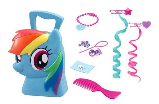 My Little Pony Rainbow Hair Styling Case £5.32 @ Amazon
