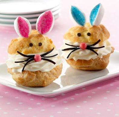 Easter Bakes: Bunny Cream Puffs