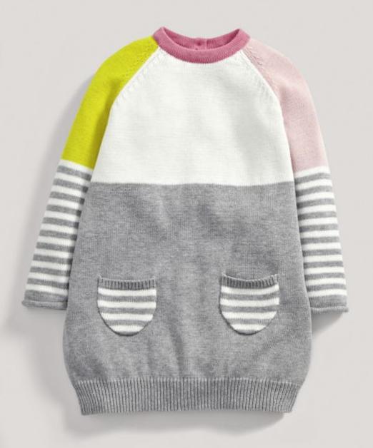Girls Bubble Knit Dress £9 Was £18 @ Mamas and Papas