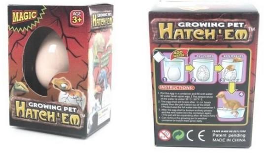 Hatching Dinosaur Egg £2.39 Delivered @ Amazon
