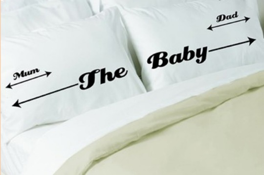 Baby Bed Hogger Pillowcases @ Twisted Twee