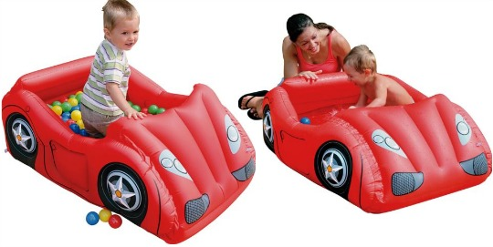 Chad Valley Inflatable Car Ball Pit & Paddling Pool: £9.99 delivered @ Argos ebay