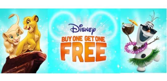 BOGOF on Disney Blu-rays & DVDs Now LIVE!