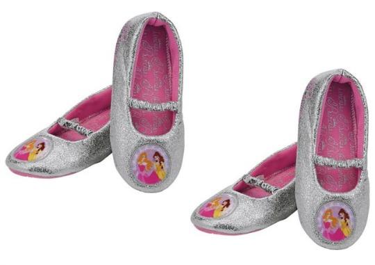 Disney Princess Girls' Grey Slippers £3.99 @ Argos
