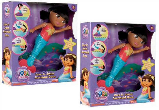 Dora the Explorer Dive & Swim Mermaid Doll £10 Delivered @ Amazon
