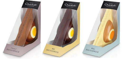 Chocolate Easter Egg Sandwiches by Hotel Chocolat