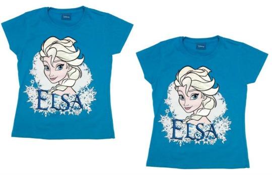 Disney Frozen Elsa T-Shirt £3.99 @ Argos