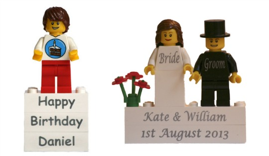 Personalised LEGO Bricks and Minifigures @ Fab Bricks
