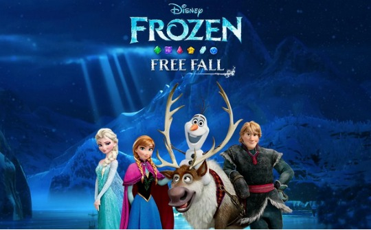 FREE Frozen Free Fall App (Android and IOS) from Google/iTunes