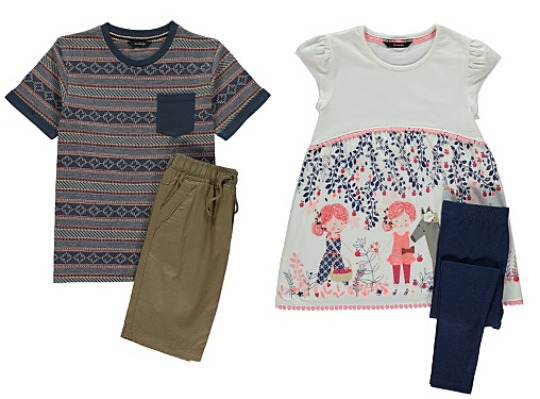 £5 Or LESS Boys & Girls Clothing @ Asda George