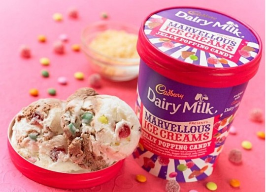 Mmmmm....Cadbury's Release Four New Flavours Of Ice Cream