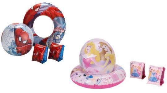 Spider-man/Disney Princess Inflatable Sets £2.49 @ Argos