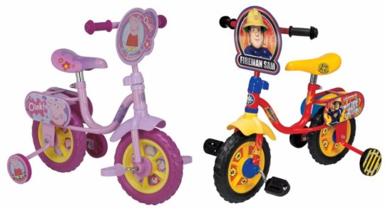 Half Price Children's Character Bikes now from £25 @ Tesco Direct