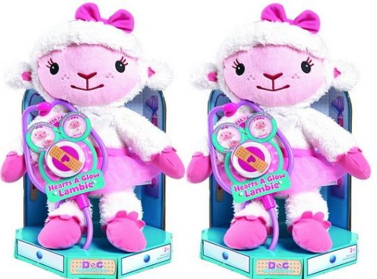 Doc McStuffins Hearts A Glow Lambie £15.74 @ Asda George/Amazon
